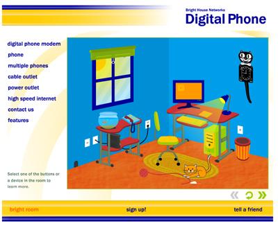 Digital Phone Flash
