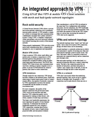 VPN Topologies White Paper