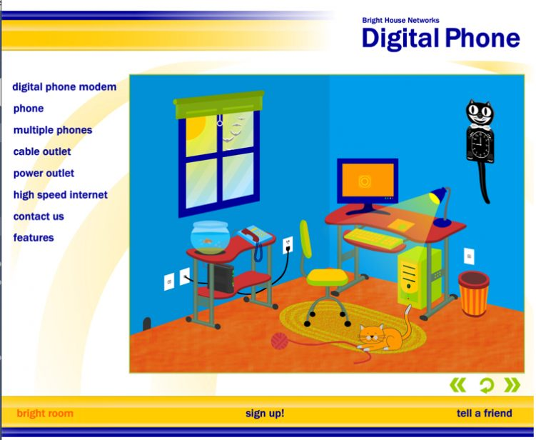 Digital Phone Room Flash